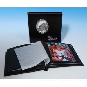 "Contemporary Classic Studio 80 - Cameo Wedding Photo Album - Page Size 9"" x 8 3/4"""
