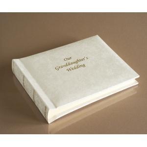 """Romantica Classic Mini - Our Granddaughter's Wedding Album - Page Size 8"""" x 6"""""""