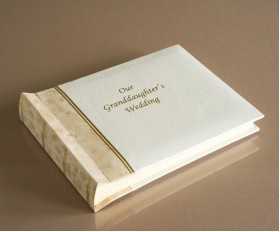 """Harmony Classic Mini - Our Granddaughter's Wedding Album - Page Size 8"""" x 6"""""""