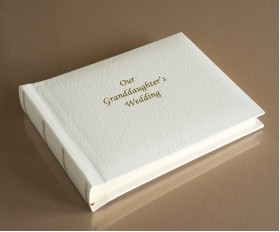 "St James Classic Mini - Our Granddaughter's Wedding Album - Page Size 6"" x 8"""
