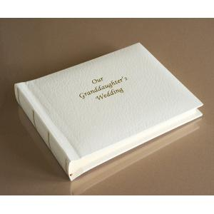"""St James Classic Mini - Our Granddaughter's Wedding Album - Page Size 6"""" x 8"""""""