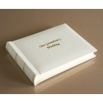 "St James Classic Mini - Our Grandson's Wedding Album - Page Size 6"" x 8"""