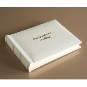 """St James Classic Mini - Our Grandson's Wedding Album - Page Size 6"""" x 8"""""""