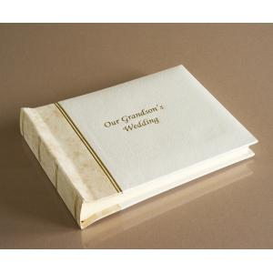 "Harmony Classic Mini - Our Grandson's Wedding Album - Page Size - 8"" x 6"""