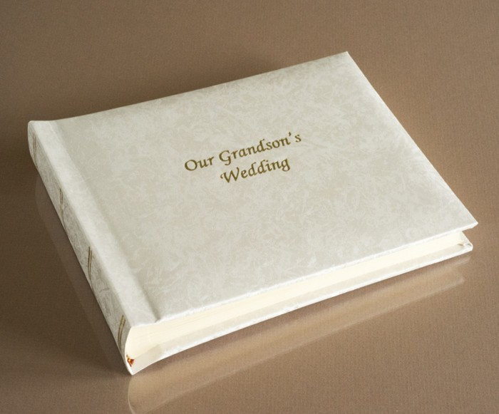 "Romantica Classic Mini - Our Grandson's Wedding Album - Page Size 8"" x 6"""