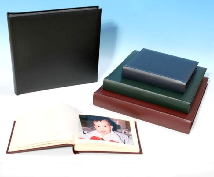 "Leather Photo Album - Classic Four - Page Size: 16 1/2"" x 13 3/4"""