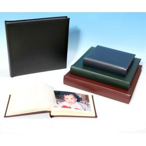 "Classic Two - Leather Photo Album - Page Size 12 1/2"" x 12 1/4"""
