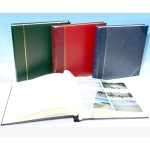 "English Library Two-Tone - Studio 80 - Traditional Photo Album - Page Size 9"" x 8 3/4"""