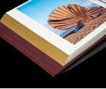 "Burgundy Leather Self Adhesive Photo Album - Overall Page Size: 315 x 325mm, 12 1/4"" x 12 3/4"""