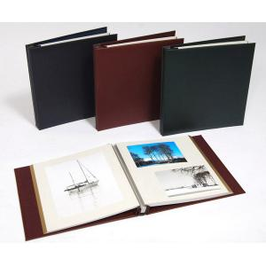 Leather Self Adhesive Photo Album - Overall Page Size: 315 x 325mm