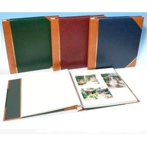Self Adhesive Photo Album - Tan Spine/Corners - Overall Page Size: 315 x 325mm