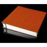 "Sienna Leather Self Adhesive Photo Album - Overall Page Size: 315 x 325mm, 12 1/4"" x 12 3/4"""