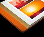 """Sienna Leather Self Adhesive Photo Album - Overall Page Size: 315 x 325mm, 12 1/4"""" x 12 3/4"""""""