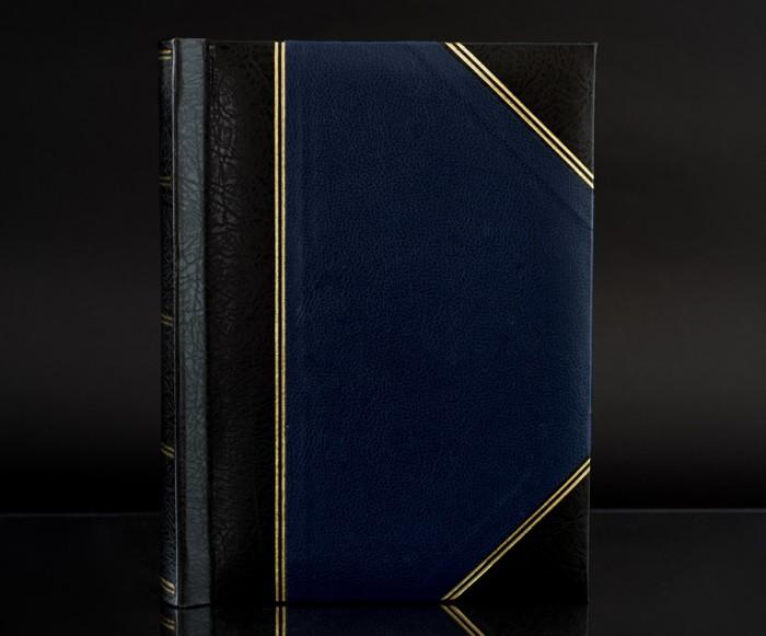 "Heritage Blue Fotostore Slip-In 5""x7"" Photo Album for 200 Photos"