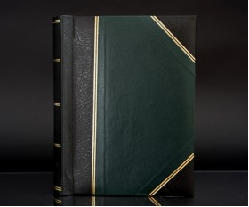 "Heritage Green Fotostore Slip-In 5""x7"" Photo Album for 200 Photos"