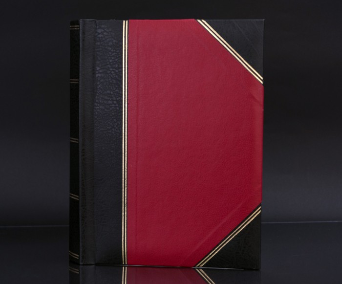 "Heritage Red Fotostore Slip-In 6""x4"" Photo Album for 200 Photos"