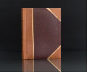 "Heritage Red Handy Slip-In 6""x4"" Photo Album for 200 Photos"