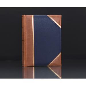 "Heritage Blue Handy Slip-In 6""x4"" Photo Album for 200 Photos"