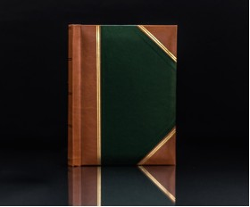 "Heritage Green Handy Slip-In 6""x4"" Photo Album for 200 Photos"