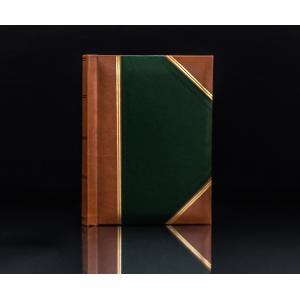 "Heritage Green Handy Slip-In 6""x4"" Photo Album for 200 Photos"