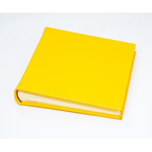 "The Chelsea Collection - Classic 80 - Mustard Yellow - Photo Album - Page Size 9"" x 8 3/4"" inches"