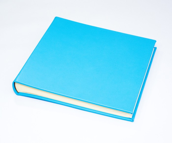 "The Chelsea Collection - Classic Two - Bonnie Blue - Photo Album - Page Size 12 1/2"" x 12 1/4"" inches"
