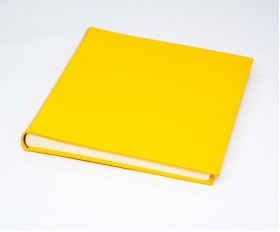 "The Chelsea Collection - Classic Two - Mustard Yellow -  Photo Album - Page Size 12 1/2"" x 12 1/4"" inches"