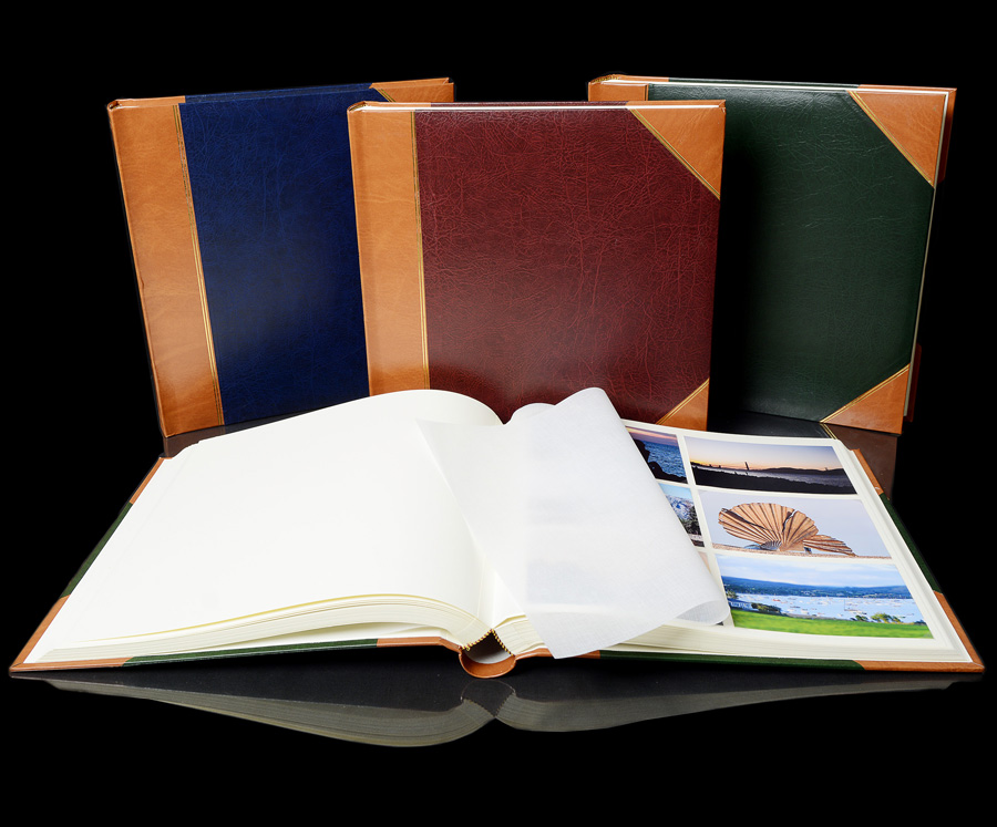 Extra Large Traditional Photo Albums Heritage Library Collection