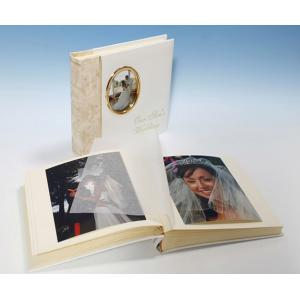 "Harmony Classic Studio 80 - Cameo Wedding Photo Album - Page Size 9"" x 8 3/4"""
