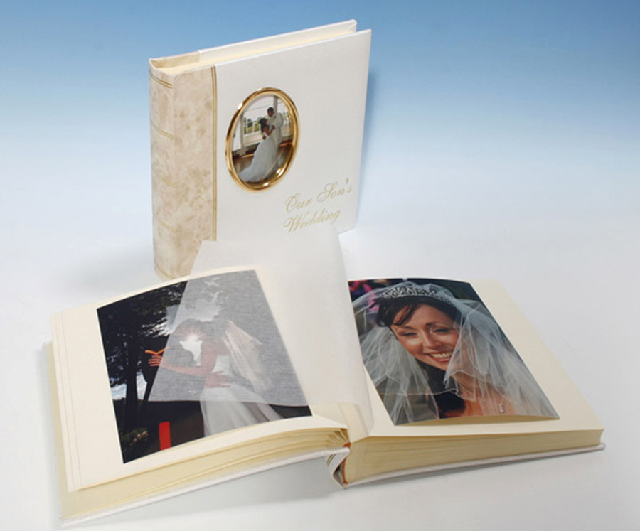 Traditional Cameo Wedding Photo Albums