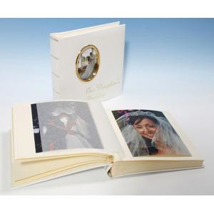 "St James Classic Studio 80 - Cameo Wedding Photo Album - Page Size 9"" x 8 3/4"""