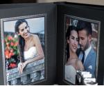 Easy-Fill Slip In 6x8 'Our Wedding' Album - Black - 30 or 50 Photos