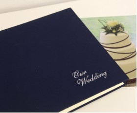 "Somerset Linen Classic Two - Wedding Photo Album - Page Size 12 1/2"" x 12 1/4"""