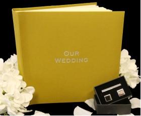 "Somerset Linen Classic Studio 80 - Wedding Photo Album - Page Size 9"" x 8 3/4"""
