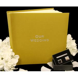 "Somerset Linen Classic Studio 80 - Wedding Photo Album - Page Size 9"" x 8 3/4"""