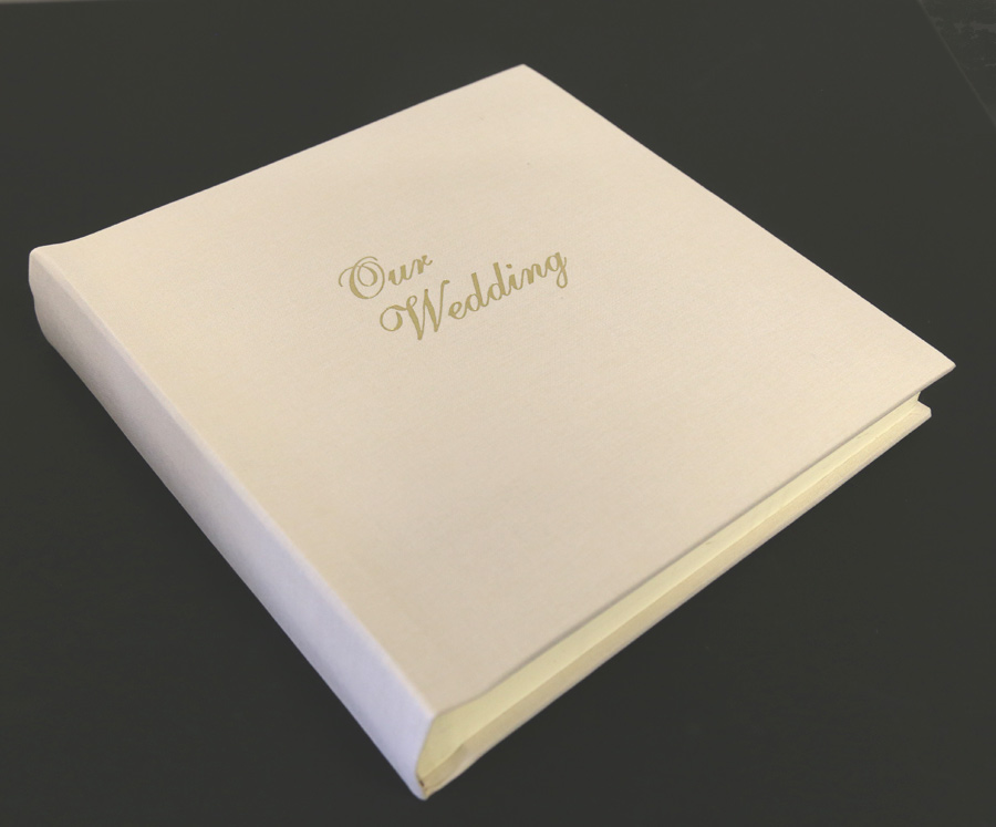 Our Somerset Linen Wedding Albums Feature A Fine Linen Cover And