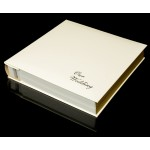 Cream Leather Self-Adhesive Wedding Photo Album