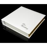 Ivory White Leather Self-Adhesive Wedding Photo Album