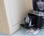 """Cream Slip In Wedding Photo Album for 30 or 50 - 6"""" x 8"""" - Portrait Photos"""