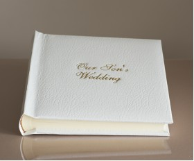 "St James Classic Studio 80 - Parents Wedding Photo Album - Page Size 9"" x 8 3/4"""