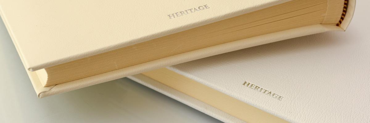 Personalised Leather Wedding Albums In Black Ivory White Cream Uk